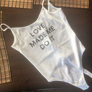 Love made me do it Bodysuit